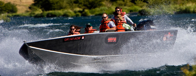 Deschutes River Jeb Boat Tours